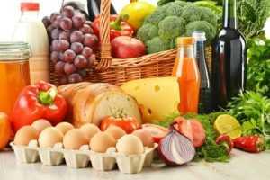 Изменение рациона и режима питания
