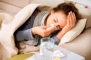 Сравнение симптомов ОРВИ и гриппа