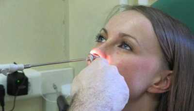 Стафилококк в носу, лечение