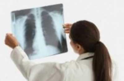 Левостороннее нижнедолевое воспаление легких