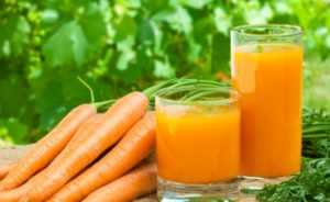 Морковный отвар