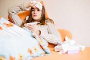 Симптомы острых респираторных инфекций