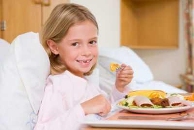 Диета и меню при ротовирусе у детей