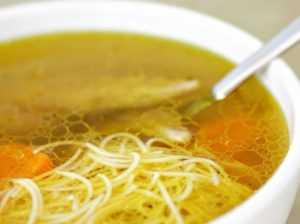Куриный суп - ешьте его даже, если у вас нет аппетита