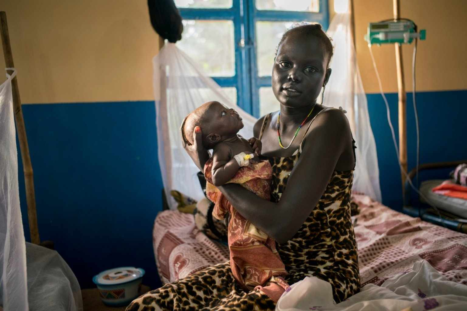 Малярия у ребенка