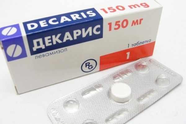 Декарис как иммуномодулятор
