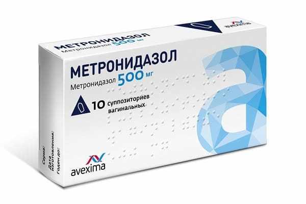 Метронидазол в свечах