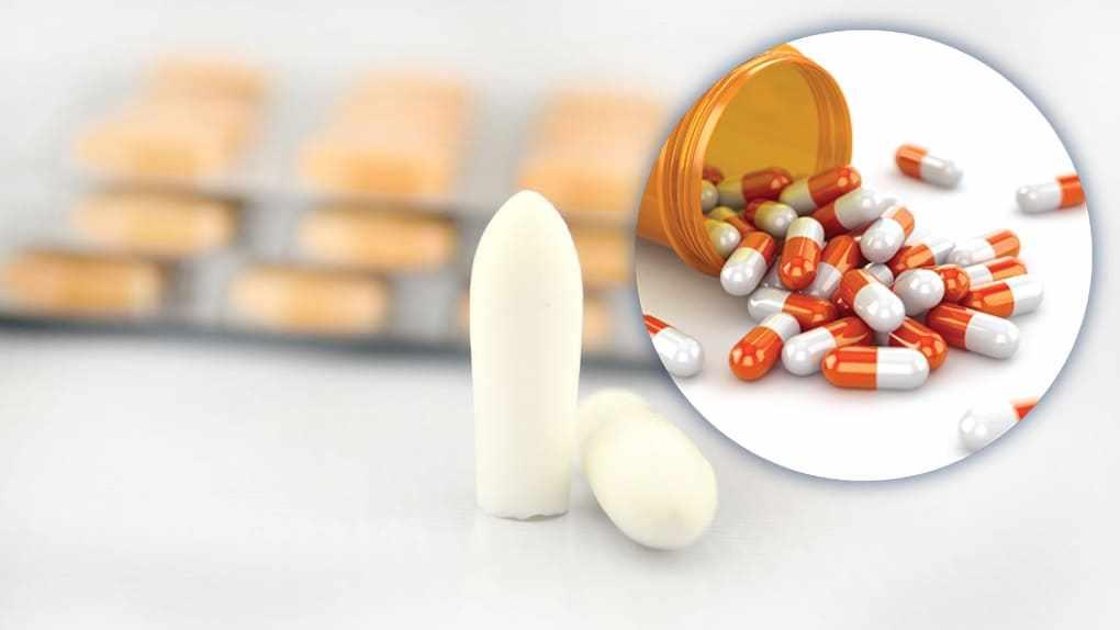 Свечи и таблетки от молочницы