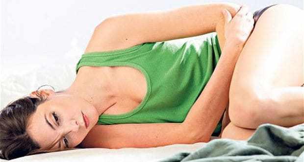 Боли ниже живота у женщины