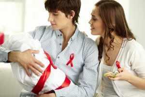 Возможность заражения во время родов