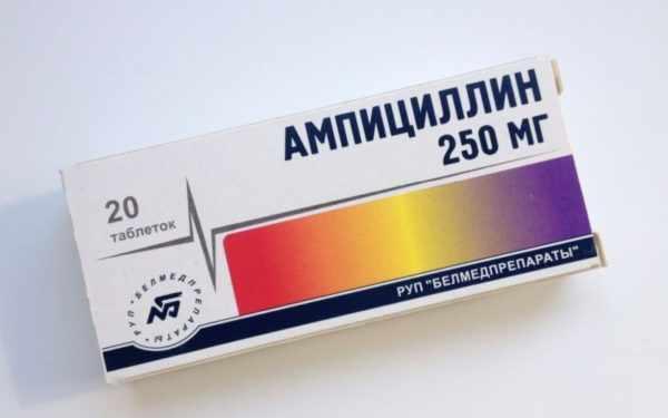 Ампициллин при фурункулезе