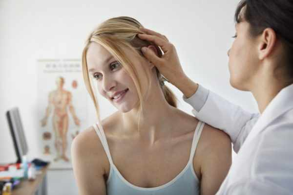 Диагностика демодекоза головы