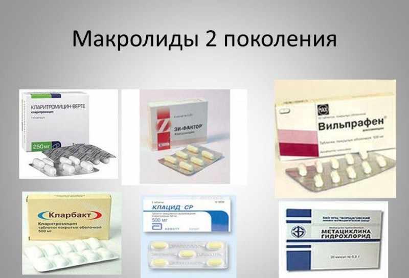 Макролидные антибиотики