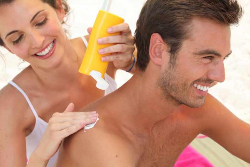 Солнцезащитный крем для профилактики трубчатого лишая