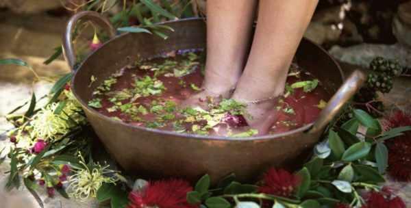 Травяная ванночка