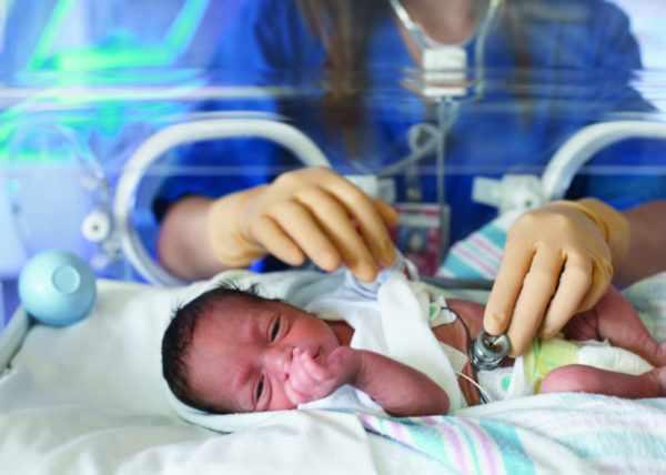 ЦМВ у новорожденного