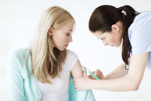 Прививка для взрослых