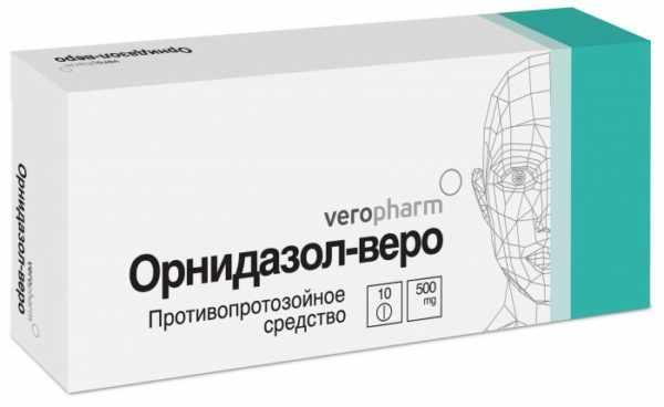 Орнидазол от демодекоза