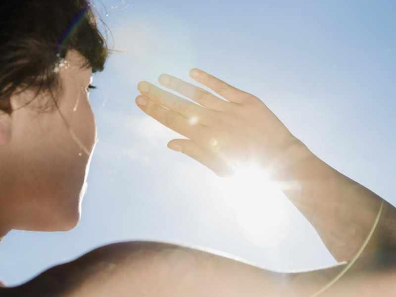 Повышение чувствительности к солнечному свету