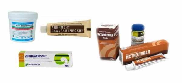 Препараты для местного лечения фурункулеза