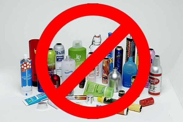 Не пользоваться любыми кремами и мазями