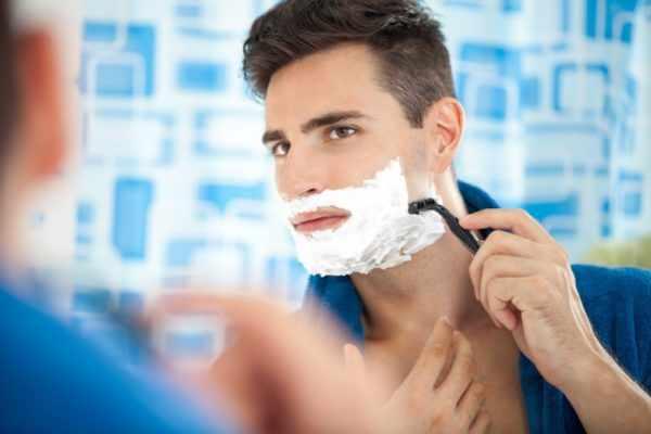 Повреждение папилломы при бритье