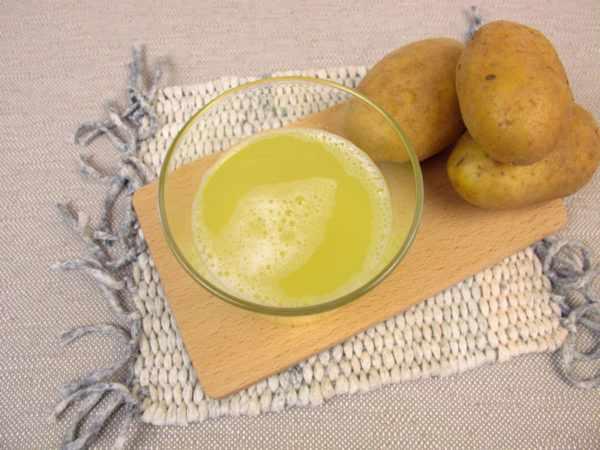 Сок картофеля от папиллом