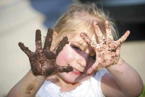 Передача вируса через грязные руки