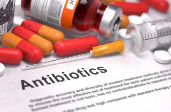 Антибиотики при гидрадените