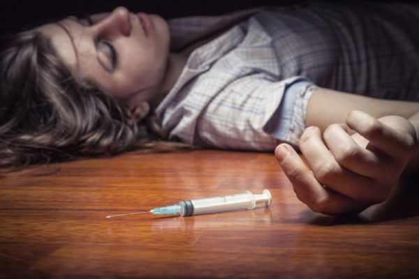 Заражение ВГЧ 8 при введении наркотиков