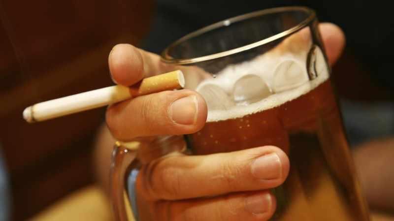 Никотиновая и алкогольная зависимость