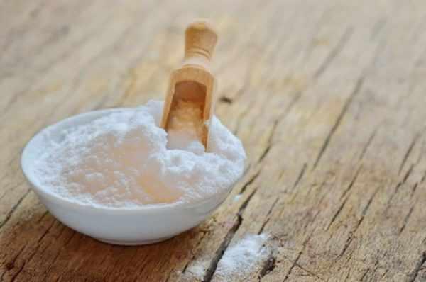 Сода от перхоти