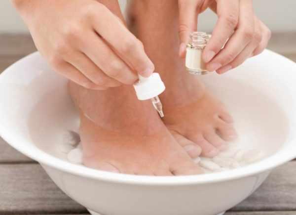Ванночка для ног с эфирным маслом
