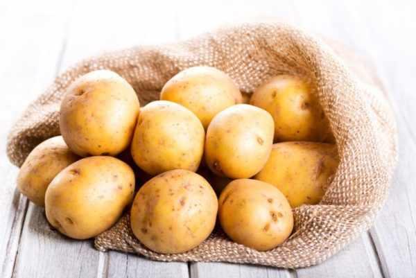 Картофель от бородавок