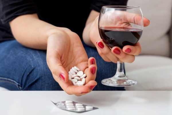 Алкоголь и медпрепараты