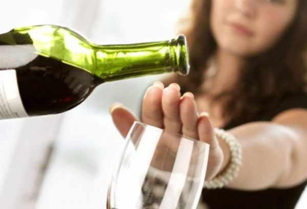 Отказ от спиртных напитков после вакцинации