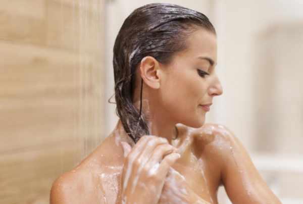 Мытье головы дегтярным мылом