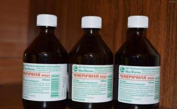 Чемеричная вода при лечении педикулеза