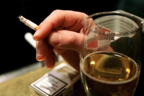злоупотребления вредными привычками