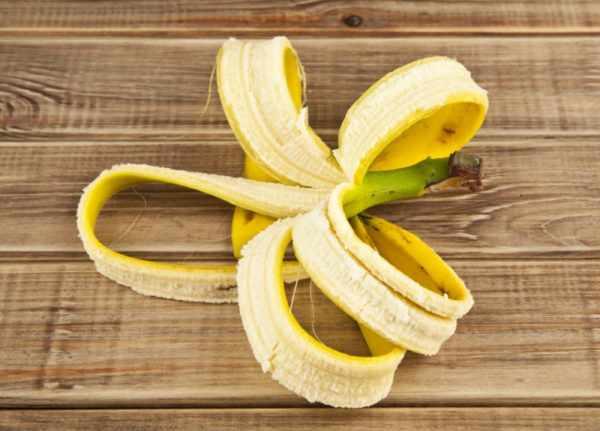 Банановая кожура от папиллом