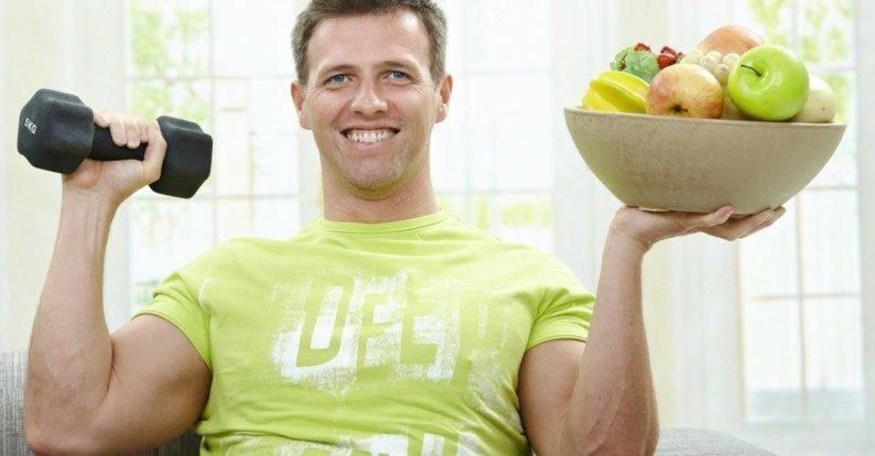Правильное питание и занятие спортом укрепляет иммунитет
