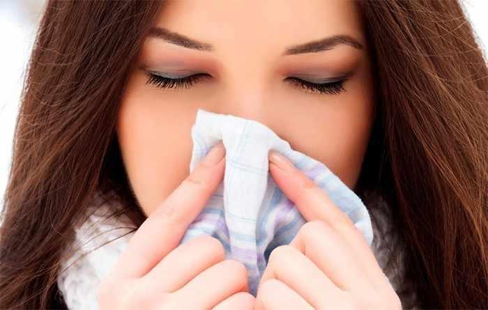 Симптомы грибка в носу