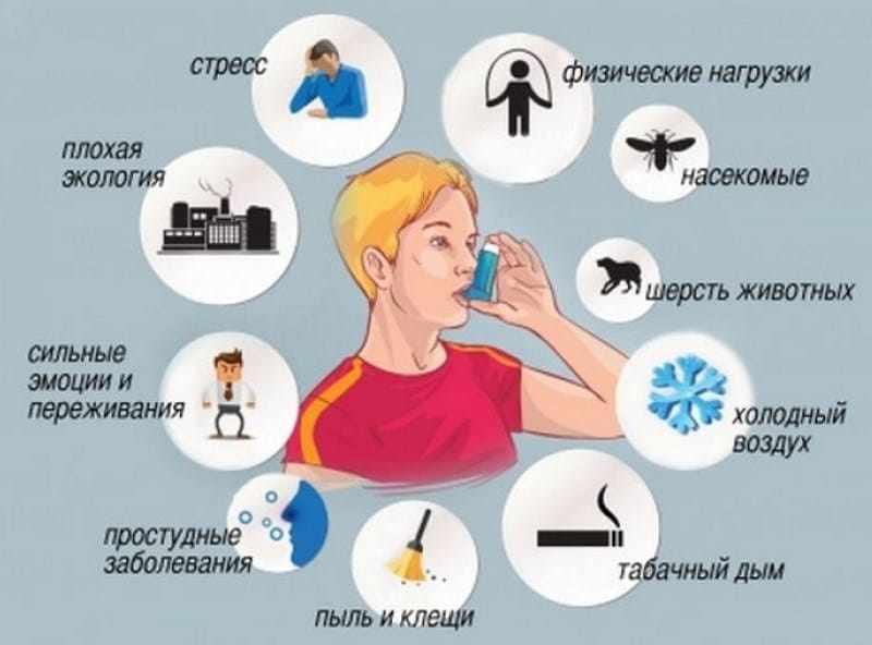 Аллергены и другие сопутствующие факторы